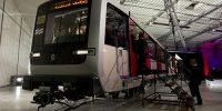 Dienst Infrastructuur Verkeer en Vervoer van de gemeente Amsterdam en ALSTOM presenteren de nieuwe metro van Amsterdam.
