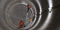 Dwarsverbinding tunnel. Foto: Gé Dubbelman