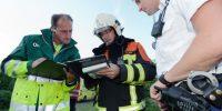 Oefening Brandweer, GOR en Ambulance