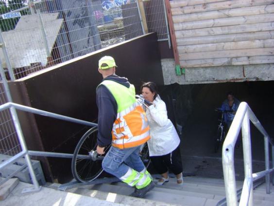 behulpzame bouwvakker
