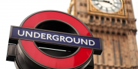 london underground met big ben