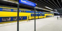 Eerste testtrein rijdt op het spoor