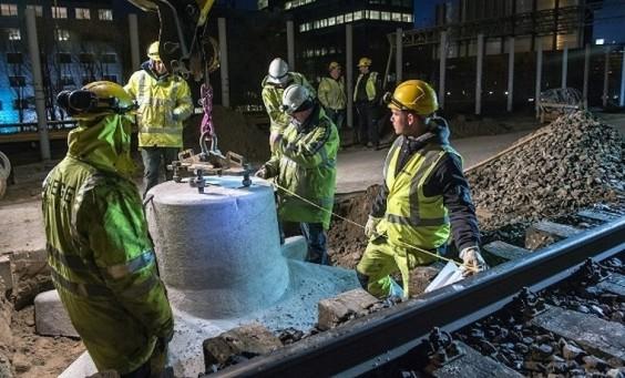Modernisering van de spoorlijn tussen Schiphol en Lelystad
