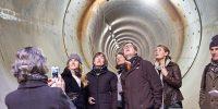 tunnelwandeling maart 2013