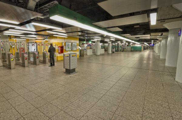 Oostlijn Serie Weesperplein | Opdrachtgever: Dienst Noord/Zuidlijn | urbancapture.com 2012