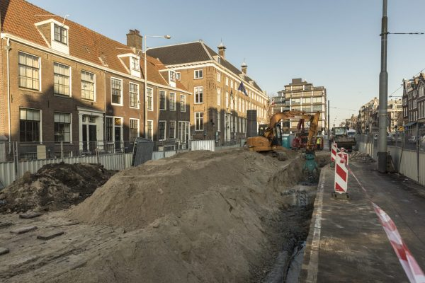 Amsterdam, 27 januari 2017.  De Rode Loper op de Vijzelgracht.  Foto: Gé Dubbelman/Hollandse Hoogte